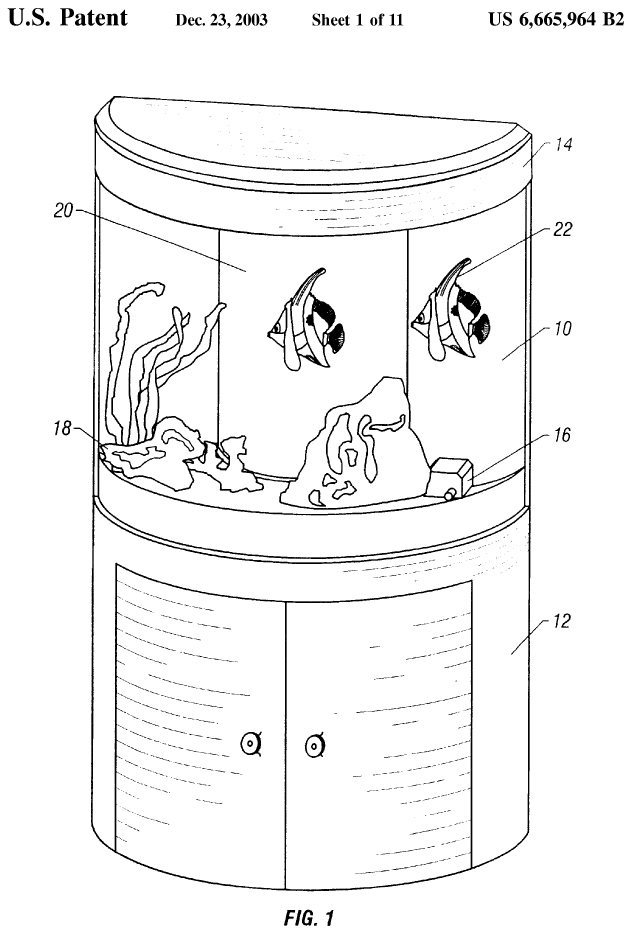 A container for fish hopefully containing more than 10% of liquid