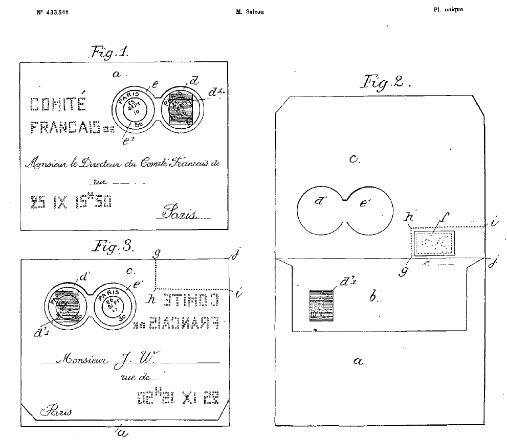 The Soleau envelope patent.