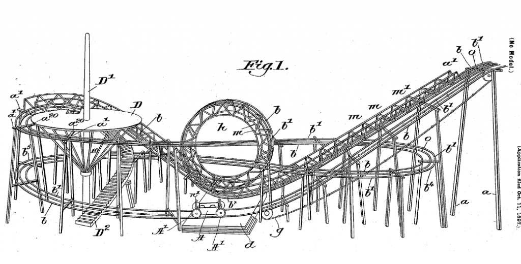 A roller (coaster) embodiment.